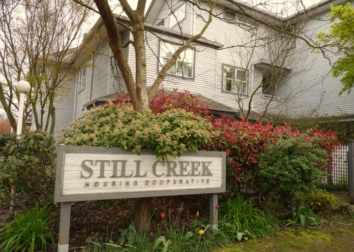 Still Creek Housing Co-op, Vancouver, BC - entrance