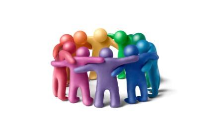 Group hug circle